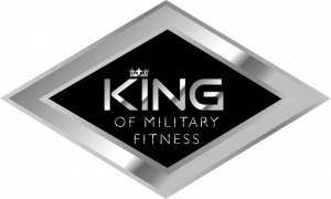 KingOf Military Fitness Badge
