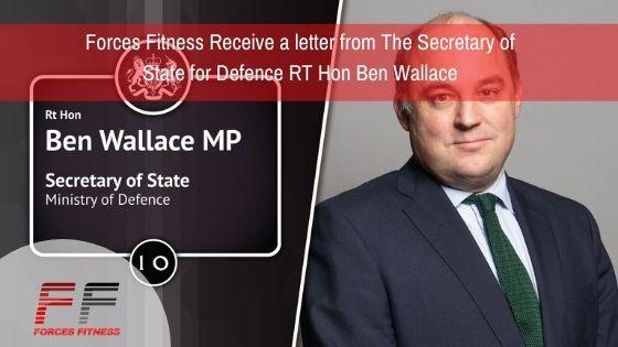RT Hon Ben Wallace