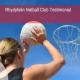 Rhydyfelin Netball Club Testimonial